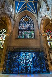 Entrance to St Giles Cathedral in Edinburgh, Scotland, United Kingdom