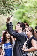 Oasi Bosco di Policoro, Basilicata, Italia, 19/04/2016<br /> Una scolaresca in visita all'Oasi WWF Bosco di Policoro, sulla costa ionica della Basilicata.<br /> <br /> Policoro Forest Oasis, Basilicata, Italia, 19/04/2016<br /> Students visiting the Policoro Forest WWF Oasis, on the Ioanian cost of Basilicata region.