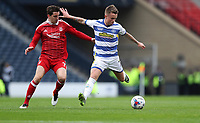 Football - 2016 / 2017 Scottish League Cup - Semi-Final - Greenock Morton vs. Aberdeen<br /> <br /> Gary Oliver of Morton and Kenny McLean of Aberdeen, at Hampden Park.<br /> <br /> COLORSPORT/LYNNE CAMERON