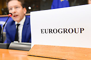 ECON committee meeting. Economic Dialogue and exchange of views with Jeroen DIJSSELBLOEM