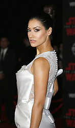 Janina Gavankar at the World premiere of 'Star Wars: The Last Jedi' held at the Shrine Auditorium in Los Angeles, USA on December 9, 2017.
