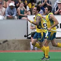 MELBOURNE - Champions Trophy men 2012<br /> India v Austalia <br /> foto: Celebrating.<br /> FFU PRESS AGENCY COPYRIGHT FRANK UIJLENBROEK