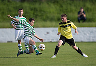 - FC Kettledrum (green and white) v Charleston (yellow) in the Dundee Saturday Morning Football League George Mcarthur Memorial Cup Final at Glenesk, Dundee, Photo: David Young<br /> <br />  - &copy; David Young - www.davidyoungphoto.co.uk - email: davidyoungphoto@gmail.com