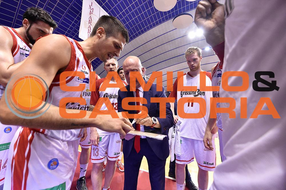 DESCRIZIONE : Venezia Lega A 2014-15 Umana Venezia-Grissin Bon Reggio Emilia  playoff Semifinale gara 5<br /> GIOCATORE :Menetti Massimiliano<br /> CATEGORIA : Allenatore Coach Time Out<br /> SQUADRA : GrissinBon Reggio Emilia<br /> EVENTO : LegaBasket Serie A Beko 2014/2015<br /> GARA : Umana Venezia-Grissin Bon Reggio Emilia playoff Semifinale gara 5<br /> DATA : 07/06/2015 <br /> SPORT : Pallacanestro <br /> AUTORE : Agenzia Ciamillo-Castoria /GiulioCiamillo<br /> Galleria : Lega Basket A 2014-2015 Fotonotizia : Reggio Emilia Lega A 2014-15 Umana Venezia-Grissin Bon Reggio Emilia playoff Semifinale gara 5<br /> Predefinita :