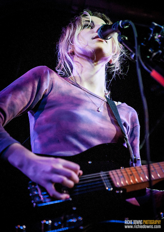 Wolf Alice performs at U Street Music Hall on 10/01/2015.
