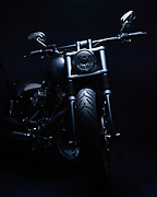 Dezember 2018, Harley Davidson FXSB Grey Diamond, build by Harley Davidson Zurich, photographed by Juerg Kaufmann