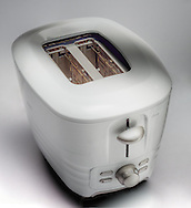packaging shot of a toaster for Oster