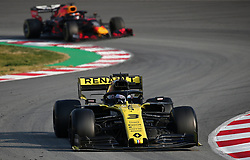 February 20, 2019 - Barcelona, Spain - the Renault of Daniel Ricciardo during the Formula 1 test in Barcelona, on 20th February 2019, in Barcelona, Spain. (Credit Image: © Joan Valls/NurPhoto via ZUMA Press)