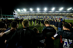 Worcester Warriors huddle - Mandatory by-line: Robbie Stephenson/JMP - 17/01/2020 - RUGBY - Sixways Stadium - Worcester, England - Worcester Warriors v Castres Olympique - European Rugby Challenge Cup