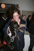 , ' Copper: A Dog's Life' Lady Annabel Goldsmith book signing. Mungo and Maud, Elizabeth St. London. 20 February 2007.   -DO NOT ARCHIVE-© Copyright Photograph by Dafydd Jones. 248 Clapham Rd. London SW9 0PZ. Tel 0207 820 0771. www.dafjones.com.