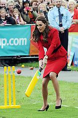 Christchurch-Royal Visit, Cricket World Cup play