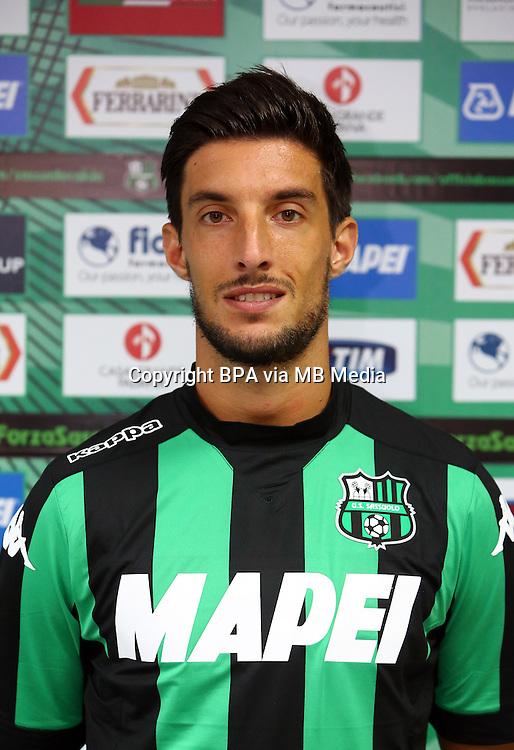 Italian League Serie A -2015-2016 / <br /> ( US Sassuolo Calcio ) - <br /> Lorenzo Ariaudo