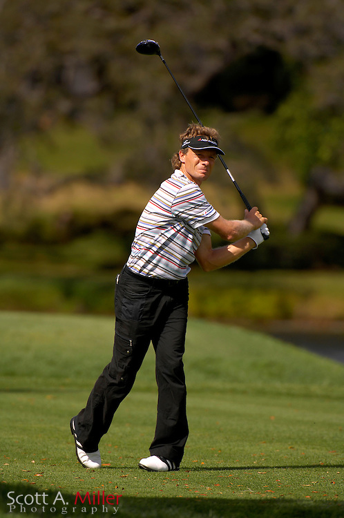 Bernhard Langer in action during the Arnold Palmer Invitational at Bay Hill Club and Lodge on March 16, 2007 in Orlando, Florida...© 2007 Scott A. Miller