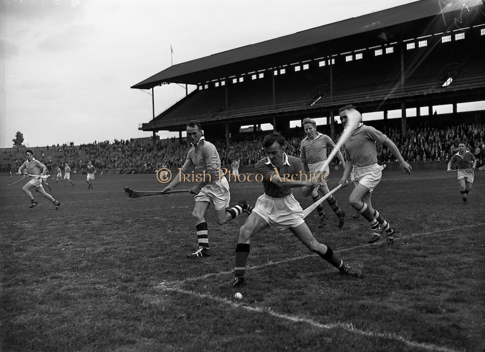 Cork vs Antrim Junior Hurling Home Final at Croke Park<br /> 20/09/1959