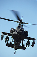 Apache attack helicopter..Photograph by Dennis Brack b23