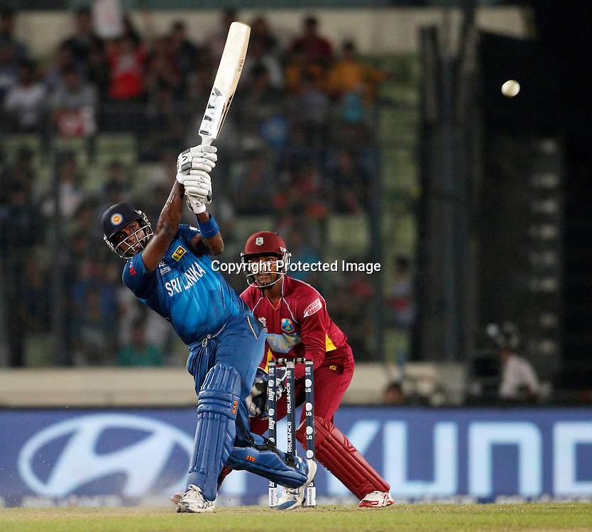 Angelo Mathews, T20 Cricket World Cup, Semi Final, Sri Lanka v West Indies, Sher-e-Bangla National Cricket Stadium, Mirpur, Bangladesh, 3 April 2014. Photo: www.photosport.co.nz