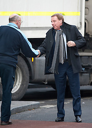 © Licensed to London News Pictures. 07/02/2012. London, UK.  Harry Redknapp shakes the hans of a member of the public as he arrives at Southwark Crown Court on February 7th, 2012. Harry Redknapp faces two counts of cheating the public revenue. Charges relate to the payment of $295k from Milan Mandaric to Harry Redknapp via a bank account in Monaco, evading tax and national insurance while the pair were at Portsmouth Football Club. Photo credit : Ben Cawthra/LNP