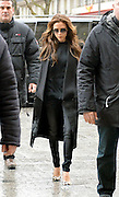 25.FEBRUARY.2013. PARIS<br /> <br /> VICTORIA BECKHAM ARRIVES AT GARE DU NORD RAILWAY STATION IN PARIS, TO CATCH A EUROSTAR TRAIN TO LONDON AFTER WATCHING HUSBAND DAVID BECKHAM MAKE HIS DEDUT FOR PARIS ST GERMAIN.<br /> <br /> BYLINE: EDBIMAGEARCHIVE.CO.UK<br /> <br /> *THIS IMAGE IS STRICTLY FOR UK NEWSPAPERS AND MAGAZINES ONLY*<br /> *FOR WORLD WIDE SALES AND WEB USE PLEASE CONTACT EDBIMAGEARCHIVE - 0208 954 5968*