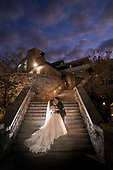 Holly & Josh's romantic Cambridge Mill fall wedding