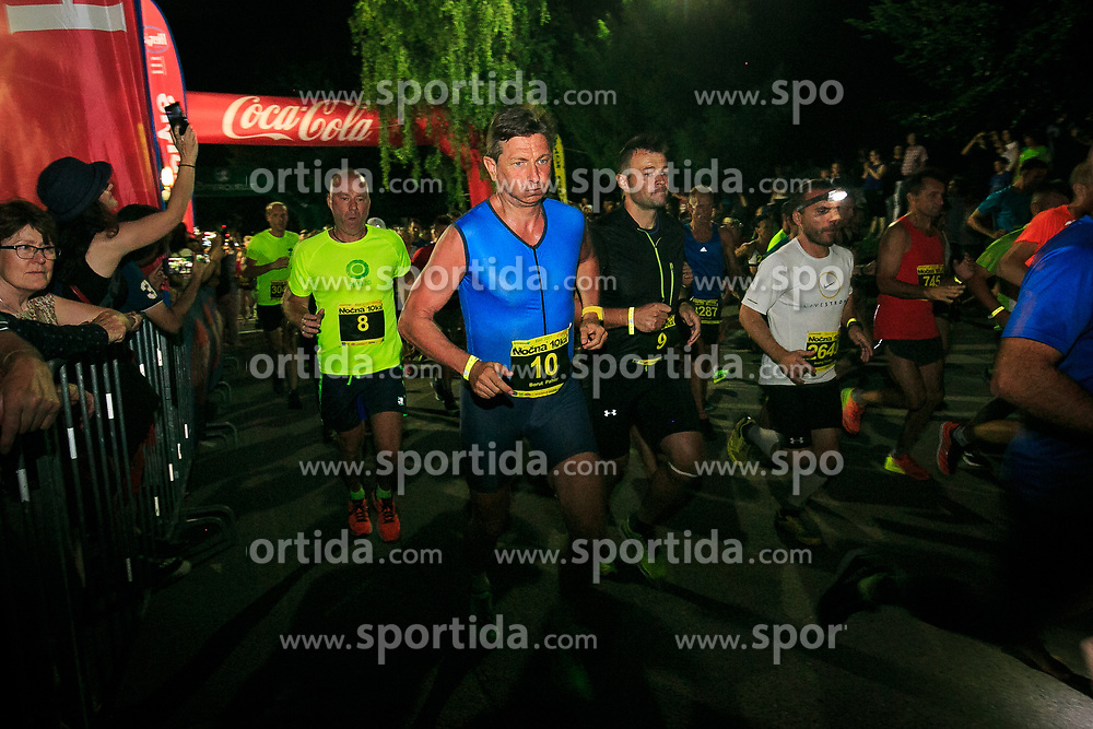 Borut Pahor president of Republic Slovenia 11th Nocna 10ka 2017, traditional run around Bled's lake, on July 08, 2017 in Bled,  Slovenia. Photo by Sandi Fiser/ Sportida