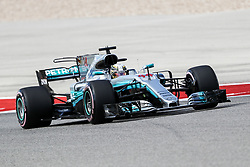 October 21, 2017 - Austin, Texas, U.S - Mercedes driver Lewis Hamilton (44) of Great Britain in action during the final practice before the Formula 1 United States Grand Prix race at the Circuit of the Americas race track in Austin,Texas. (Credit Image: © Dan Wozniak via ZUMA Wire)