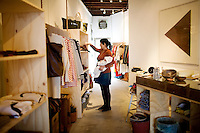 The General Store offers local crafts and vintage items, in San Francisco's far western neighborhood, the Outer Sunset, on Saturday, Oct. 23, 2010..