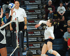 CU Volleyball vs Augustana 11.16.2012