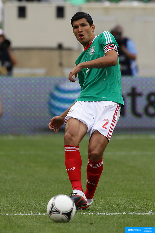 Francisco Rodriguez, Mexico, in action during the Mexico V Wales international football friendly match at MetLife Stadium, East Rutherford, New Jersey, 23rd May 2012. Photo Tim Clayton