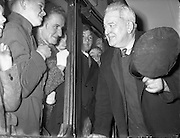 Last Train leaves Harcourt Station. 31/12/1958<br /> HARCOURT TRAIN STATION,