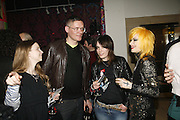Giles deacon and Pam Hogg, Future Punk Launch party at Selfridges, Oxford St. : 9th March. ONE TIME USE ONLY - DO NOT ARCHIVE  © Copyright Photograph by Dafydd Jones 66 Stockwell Park Rd. London SW9 0DA Tel 020 7733 0108 www.dafjones.com