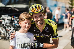 Luka Mezgec (SLO) of Mitchelton - Scott before 2nd Stage of 26th Tour of Slovenia 2019 cycling race between Maribor and Celje (146,3 km), on June 20, 2019 in  Slovenia. Photo by Peter Podobnik / Sportida