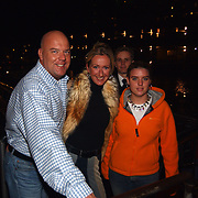 Start showboat rederij Lovers, Gaston Starreveld, dochter en vrouw Marisa