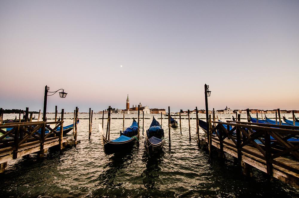 A classic Venetian scene.