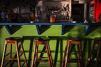 Desideri Restaurant & Bar, on west coast of Little Corn Island, Nicaragua. Copyright 2017 Reid McNally.