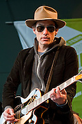 Jakob Dylan and Three Legs featuring Neko Case and Kelly Hogan performing at the Mr and Mrs T and Rachael Ray's Feedback Festival at Stubb's BBQ, South by Southwest Music Conference, Austin Texas, March 20, 2010.