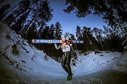 13.12.2013, Nordische Arena, Ramsau, AUT, FIS Nordische Kombination Weltcup, Skisprung Training, im Bild Wilhelm Denifl (AUT) // Wilhelm Denifl (AUT) during Ski Jumping Training of FIS Nordic Combined World Cup at the Nordic Arena in Ramsau, Austria on 2013/12/13. EXPA Pictures © 2013, EXPA/ JFK