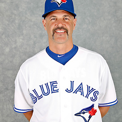 March 2, 2012; Dunedin, FL, USA; Toronto Blue Jays bullpen coach Pete Walker (40) poses for a portrait during photo day at Florida Auto Exchange Stadium.  Mandatory Credit: Derick E. Hingle-US PRESSWIRE
