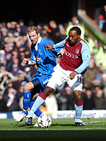 ASTON VILLA/BIRMINGHAM PREMIER LEAGUE 22/02/04 <br />