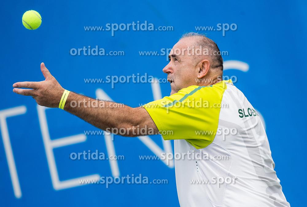 Radenko Mijatovic at Petrol recreational tenis tournament during ATP Challenger Zavarovalnica Sava Slovenia Open 2017, on August 12, 2017 in Sports centre, Portoroz/Portorose, Slovenia. Photo by Vid Ponikvar / Sportida
