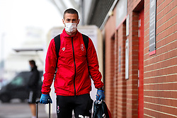 Tommy Rowe of Bristol City arrives during a friendly match before the Premier League and Championship resume after the Covid-19 mid-season disruption - Rogan/JMP - 12/06/2020 - FOOTBALL - St Mary's Stadium, England - Southampton v Bristol City - Friendly.