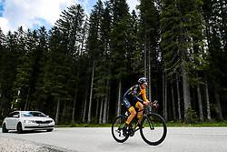 Aljaz Prah competes at Sloveian Road Cycling Championship Time Trial 2020 Gorje - Pokljuka, on June 28, 2020 in Pokljuka, Slovenia. Photo by Matic Klansek Velej / Sportida