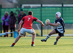 Iwan Hughes (SGS College) of Bristol Rugby Academy U18 - Mandatory by-line: Paul Knight/JMP - 21/01/2017 - RUGBY - SGS Wise Campus - Bristol, England - Bristol Academy U18 v Saracens Academy U18 - Premiership Rugby Academy U18 League