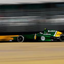 F1 Australian Grand Prix 15 March 2013 Practice Session 2.Practice Session 2. Giedo Van Der Garde Caterham Turn 7.(c) MILOS LEKOVIC | StockPix.eu