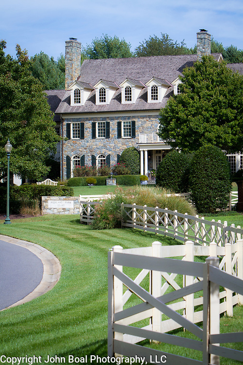 A home in Potomac Maryland, on Tuesday, September 26, 2017. Potomac is well known for the large and expensive properties in what was originally known for it's horse farms. Maryland's 6th District was redistricted in 2011, combining rural northern Maryland regions with more affluent communities like Potomac and Germantown. CREDIT: John Boal for The Wall Street Journal<br /> GERRYMANDER