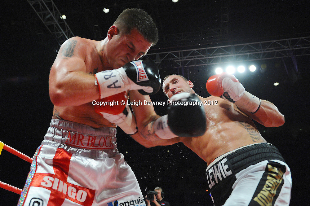 Jon Lewis Dickinson defeats Shane McPhilbin for the Vacant British Cruiserweight Title at the Echo Arena, Liverpool on 13th October 2012. Frank Maloney Promotions © Leigh Dawney Photography 2012.Jon Lewis Dickinson defeats Shane McPhilbin for the Vacant British Cruiserweight Title at the Echo Arena, Liverpool on 13th October 2012. Frank Maloney Promotions © Leigh Dawney Photography 2012.