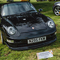Porsche 993 RS 'Black Snake' 1998 on 20/07/2019, at Rennsport Collective, Donington Hall, Leicestershire, UK,