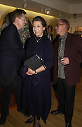 Felicity Dahl. Gerald Scarfe Book launch and exhibition. Fine art Society. New Bond St. London. 3 November 2005. . ONE TIME USE ONLY - DO NOT ARCHIVE © Copyright Photograph by Dafydd Jones 66 Stockwell Park Rd. London SW9 0DA Tel 020 7733 0108 www.dafjones.com