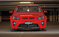 2009 VE HSV Clubsport R8 Tourer.Sting Red.Docklands, Victoria .2nd July 2009.(C) Joel Strickland Photographics.Use information: This image is intended for Editorial use only (e.g. news or commentary, print or electronic). Any commercial or promotional use requires additional clearance.