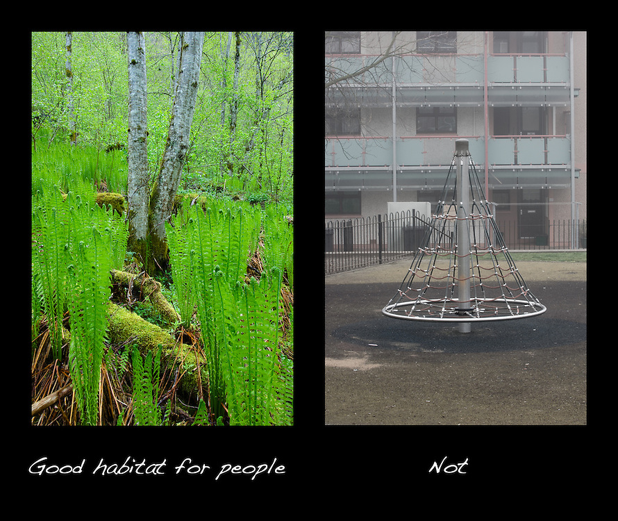 Good habitat for people-not poster