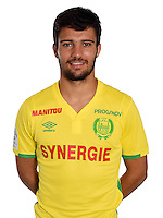 Leo Dubois during photocall of Fc Nantes for new season of Ligue 1 on September 14th 2016<br /> Photo : Fcna / Icon Sport